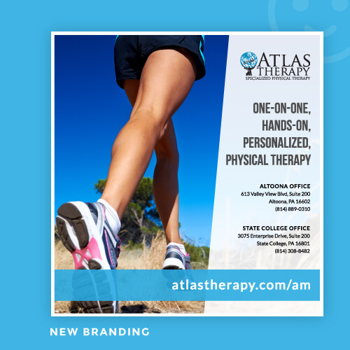 New Branding for Atlas Therapy