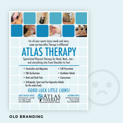 Old Branding for Atlas Therapy